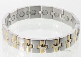 8680B - Magnetarmband Bicolor
