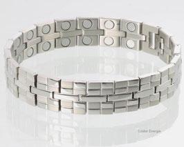 8610S2 - Magnetarmband Silber