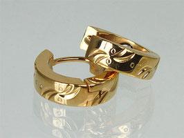 20050G -Magnetohrringe gold