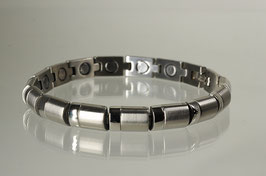8448S - Magnetarmband silberfarbend