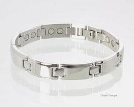 8644S - Magnetarmband Silber