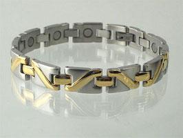 8025B - Magnetarmband bicolor