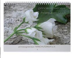 - princessgreeneye's Pelargonien-Glück -Wandkalender 2020