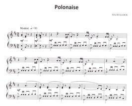 Polonaise pour piano