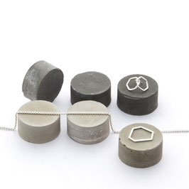 Concrete Cylinder Set of 6