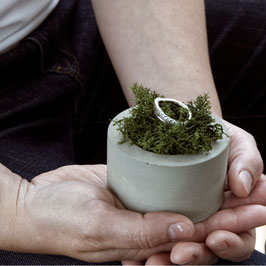 Bespoke Concrete Ring Box For Milly Maunder Designs