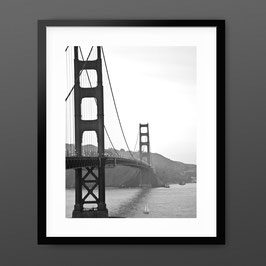 ART PRiNT 'Golden Gate Nightfall'