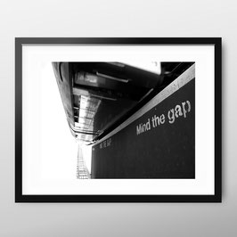 ART PRiNT  'Mind The Gap'