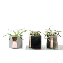 Mix It! Concrete Copper Cup Set