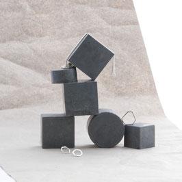 Dark Grey Polished Concrete Display Set of 6, No48
