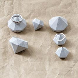 Mixed Diamond Ring Holder Set of 6