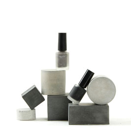 Geometric Concrete Cube & Cylinder Set of 6, No57