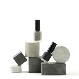 Geometric Concrete Cube & Cylinder Set of 6, No57