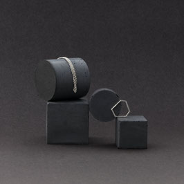 Concrete Cube And Cylinder Display Mix Of 4, No75