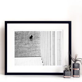 Framing 40x50cm, Any Art Print Black Wood Frame