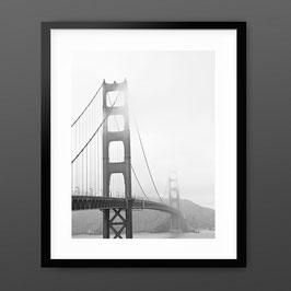 ART PRiNT 'Foggy Golden Gate'