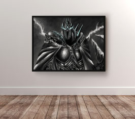 The Lich King - version papier brillant 265g/m²