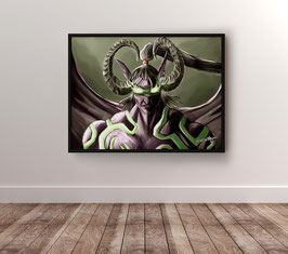 Demon Hunter - version papier brillant 265g/m²