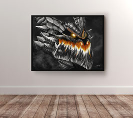 Deathwing - version papier brillant 265g/m²