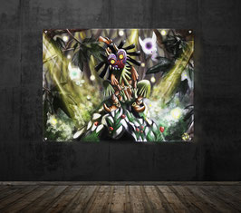 Skull Kid - version sous plexiglass