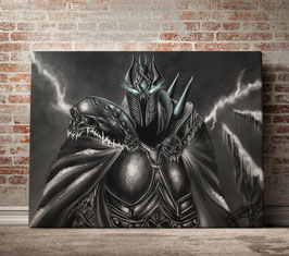 The Lich King - version toile optimisée