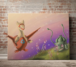 Latias and Bulbasaur - version toile optimisée