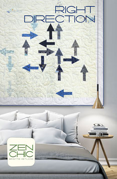 PDF-Nähanleitung für den Quilt RIGHT DIRECTION von Zen Chic