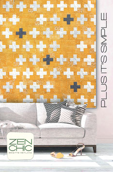 PDF-Nähanleitung für den Quilt Plus It's Simple von Zen Chic