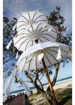 Bali tempel parasols (met 3 lagen)