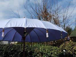Luxe editie Bali parasol, breedte 180 cm of 250 cm, kleur lila