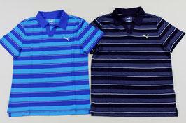 プーマ ボーダースキッパーシャツ ¥2,800 591885 (26Dブルー、Eブラック)