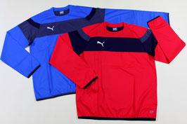 プーマ ウインドシャツ ¥2,200 654810 (73Uロイヤル、Xレッド)