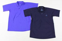 アディダス ジップシャツ ¥1,900 ITO09 (434Aセミナイトフラッシュ)