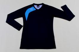 アンブロ 長袖ストレッチシャツ ¥2,200 UBA9645  (19D)