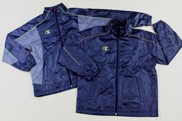 <値下げ>チャンピオン ウインドブレーカーシャツ ¥2,500⇒¥2,000 CJ1543 (45Dブラック、Eブラック/ゴールド)