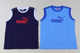 プーマ ジュニアノースリーブシャツ ¥900 833470 (708Zブルー)