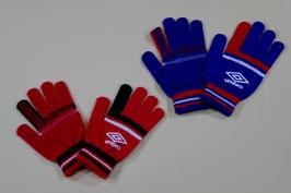 アンブロ のびのび手袋 ¥600 UJA8605 (213Fブルー、Gレッド)