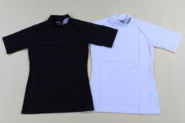 アンブロ ストレッチシャツ ¥1,900 UAS9301 (424Hブラック、Iホワイト)