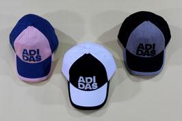 アディダス キャップ ¥1,200 BWG59 (224Fブルー、Gホワイト、Hブラック)