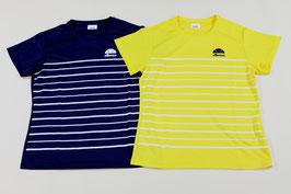 エレッセ レディスTシャツ ¥1,600 EW17165E (543Aネイビー、Cレモン)