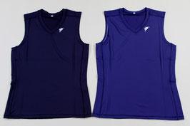 カッパ ノースリーブストレッチシャツ ¥1,200 KMMA5V30A (423Eブラック、Dネイビー)