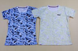フィラ レディスTシャツ ¥1,600 417-906 (98Zネイビー、Yイエロー)