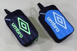 アンブロ ジュニアシューズケース ¥1,000 UJS1540J (236Rブラック、Qターコイズ)