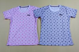フィラ レディスTシャツ ¥1,600 417-905 (97Kピンク、Nグレー)