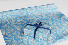 Holzschnitt Geschenkpapier