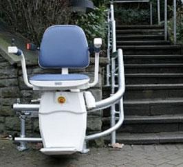 Treppenlift gebraucht - Außen-Treppenlift