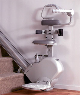 Steh-Treppenlift - gerade Treppen