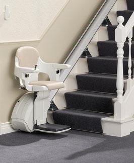 Treppenlift mieten - gerade Treppen