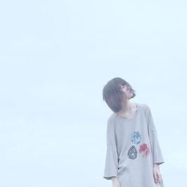0658 × sou-mu 空刻の(ロング)プルオーバー 灰