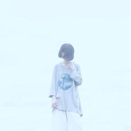 0658 ×  sou-mu 白日の(ロング)プルオーバー 灰
